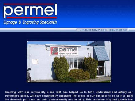 Permel Engraving Ltd (604-430-5504) - Website thumbnail - http://www.permel.com