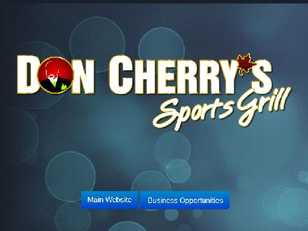 Don Cherry Sports Grill (902-539-5343) - Website thumbnail - http://www.doncherryssportsgrill.com