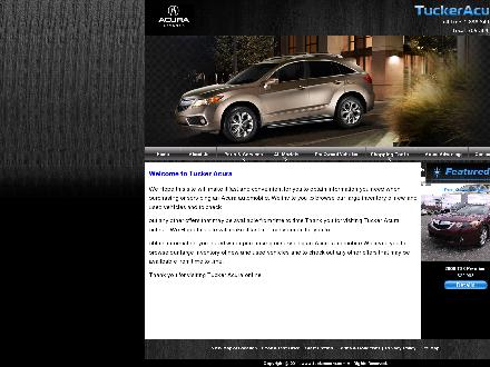 Tucker Acura Auto Sales Ltd (709-364-2423) - Website thumbnail - http://www.tuckeracura.com