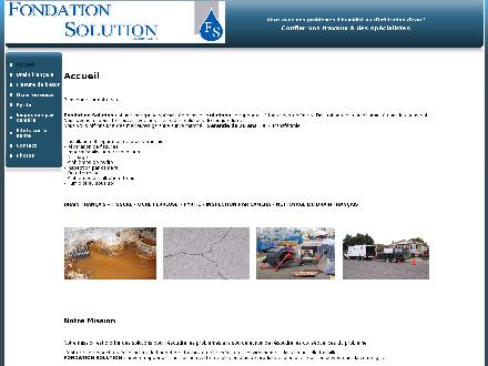 Fondation Solution (514-898-7139) - Onglet de site Web - http://www.fondationsolution.ca
