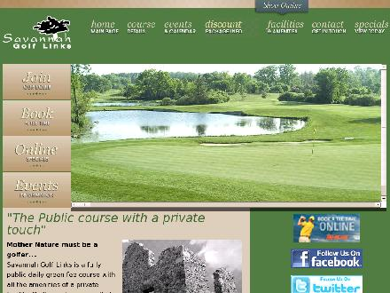 Savannah Golf Links (519-622-0309) - Onglet de site Web - http://www.savannahgolflinks.ca