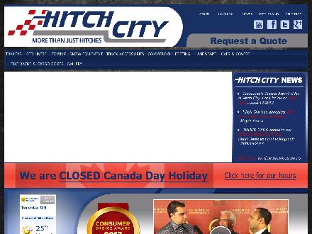 Hitch City (289-814-1873) - Onglet de site Web - http://www.hitchcity.ca