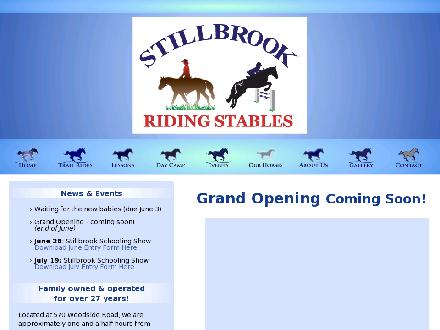 Stillbrook Riding Stables (705-295-4538) - Website thumbnail - http://www.stillbrookridingstables.com