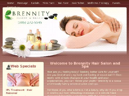 Brennity Health & Beauty (905-272-5545) - Website thumbnail - http://www.brennity.com