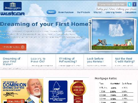 Dominion Lending Centres-Westcor (1-877-310-3404) - Website thumbnail - http://www.westcormortgage.com
