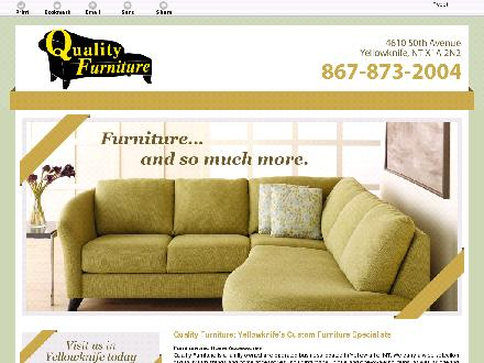 Quality Furniture (867-873-2004) - Onglet de site Web - http://qualityfurniturenwt.com/