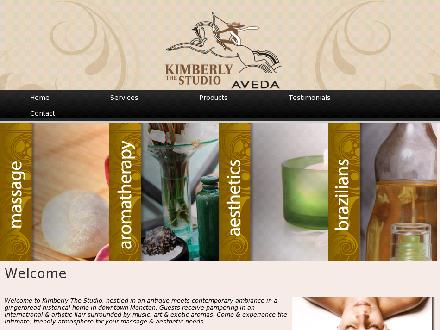 Kimberly The Studio (506-855-0863) - Onglet de site Web - http://www.kimberlythestudio.ca