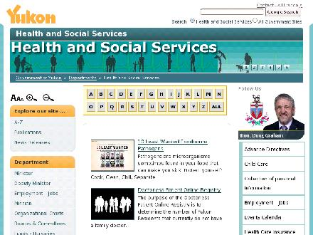 CHILD CARE SERVICES UNIT (867-667-3492) - Website thumbnail - http://www.hss.gov.yk.ca/