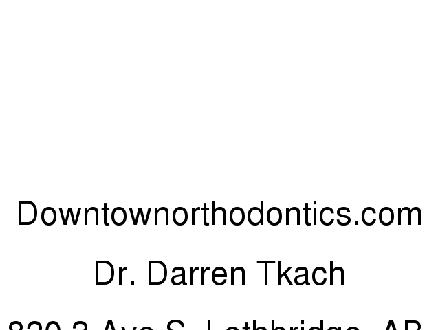 Downtown Orthodontics (403-380-4444) - Onglet de site Web - http://www.downtownorthodontics.com