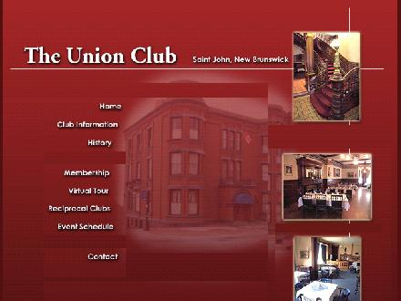 Union Club (506-634-6184) - Onglet de site Web - http://www.unionclub.ca