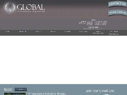 Global Fitness Centre (250-860-6900) - Website thumbnail - http://www.globalfitnesskelowna.com