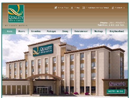 Quality Inn & Suites (204-809-0019) - Website thumbnail - http://qualityhotelwinnipeg.com