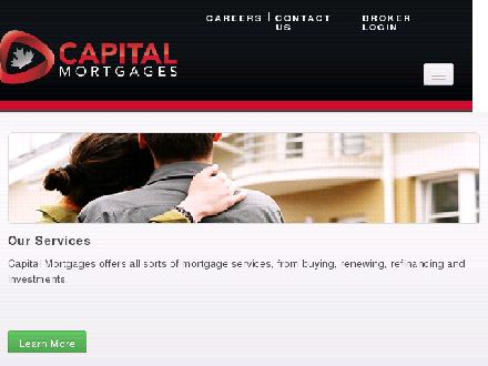 Capital Mortgages Inc (613-228-3888) - Onglet de site Web - http://www.capitalmortgages.com