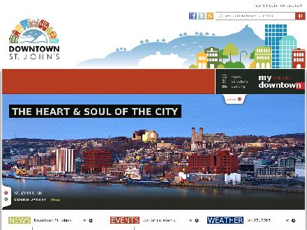 Downtown St. John's (709-579-4139) - Onglet de site Web - http://www.downtownstjohns.com
