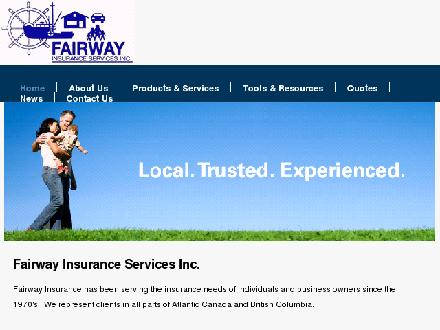 Fairway Insurance (506-336-2207) - Website thumbnail - http://www.fairway.ca