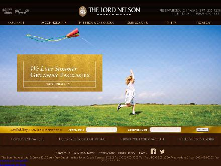 Lord Nelson Hotel &amp; Suites (902-423-6331) - Website thumbnail - http://WWW.lordnelsonhotel.com