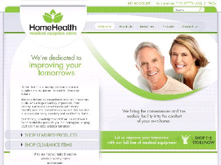 Home Health Store Inc (780-412-1599) - Website thumbnail - http://www.homehealthstore.ca