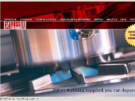 Russell Food Equipment Ltd (1-866-239-9460) - Onglet de site Web - http://www.russellfood.ca