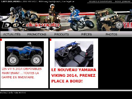Dr De La Moto (Yamaha) (819-336-6307) - Onglet de site Web - http://www.docteurdelamoto.qc.ca