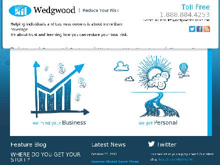 Wedgwood Insurance (709-753-3210) - Website thumbnail - http://www.wedgewoodinsurance.com