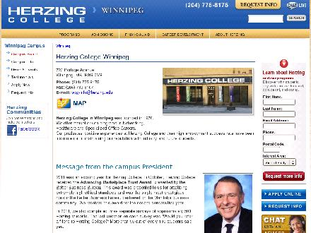 Herzing College (204-515-1537) - Website thumbnail - http://www.herzing.edu/winnipeg
