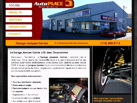 Garage Jacques Carrier Inc (418-839-5114) - Onglet de site Web - http://www.garagejcarrier.com