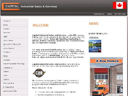Capital Industrial Sales &amp; Service (403-279-5410) - Website thumbnail - http://www.capitalindustrial.ca