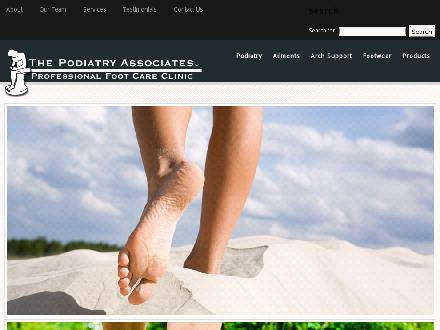Podiatry Associates The (709-739-3338) - Website thumbnail - http://www.doyourfeethurt.ca