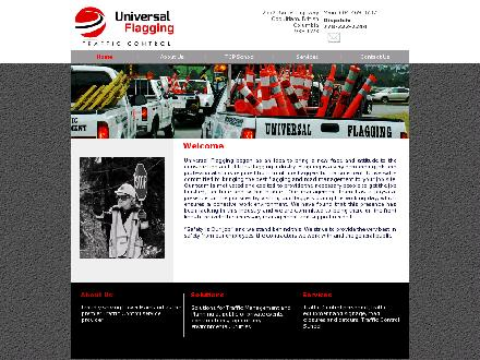 Universal Flagging & Traffic Control (604-469-3732) - Website thumbnail - http://www.universalflagging.com