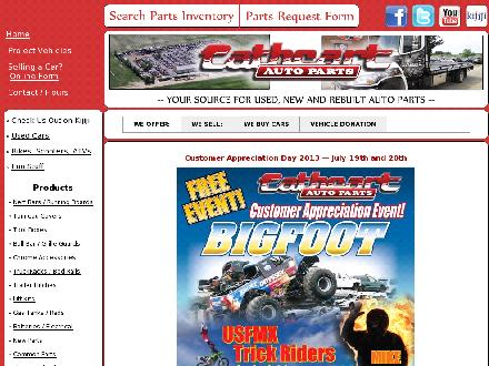 Cathcart Auto Parts (1-800-461-0699) - Website thumbnail - http://www.cathcartauto.com