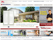 Solarcan Portes &amp; Fenetres (1-866-249-3988) - Onglet de site Web - http://www.solarcan.com