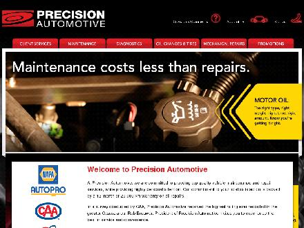 Precision Automotive (613-841-5550) - Website thumbnail - http://www.precisionautopros.ca