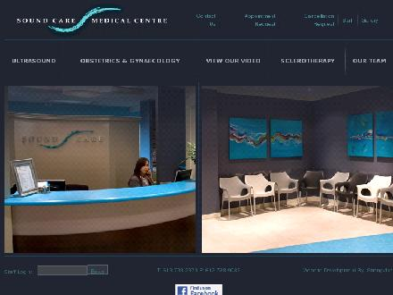 Soundcare Medical and Imaging Centre (613-738-2378) - Onglet de site Web - http://www.soundcaremedical.com