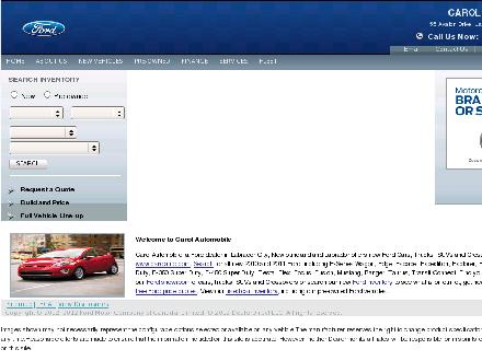 Carol Automobile Ltd (709-944-2000) - Website thumbnail - http://www.carolauto.com