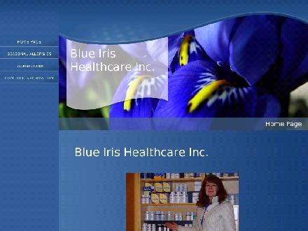 Blue Iris Healthcare Inc (780-989-3876) - Website thumbnail - http://www.blueirishealth.com