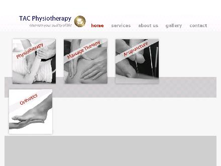 TAC Physiotherapy Clinic Inc (905-272-8372) - Website thumbnail - http://www.tacphysio.com