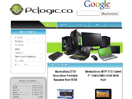 PcLogic.ca Inc (418-627-7644) - Website thumbnail - http://www.pclogic.ca