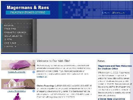 Magermans &amp; Raes (226-778-2174) - Website thumbnail - http://www.magermansandraes.com