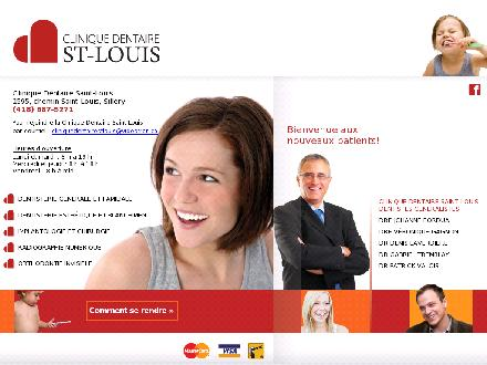Clinique Dentaire Saint-Louis (418-687-5271) - Onglet de site Web - http://www.clinique-stlouis.com/