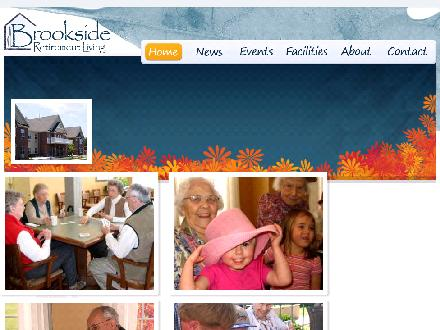 Brookside Retirement Living (519-876-3452) - Onglet de site Web - http://www.brooksideretirementliving.com
