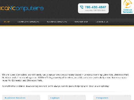 Iconic Computers Corp (780-430-4647) - Onglet de site Web - http://www.iconicomputers.ca