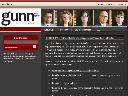 Gunn Law Group (780-401-9825) - Onglet de site Web - http://www.gunnlawgroup.ca
