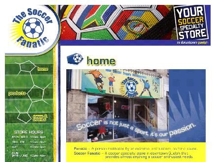 Soccer Fanatic The (519-837-3372) - Website thumbnail - http://www.soccerfanatic.ca