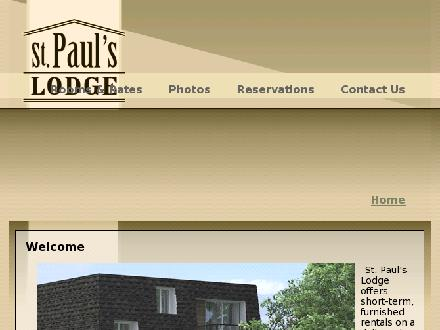 St Paul's Lodge (306-373-7829) - Onglet de site Web - http://www.stpaulslodge.ca