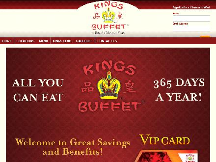 Kings Buffet London (519-451-8885) - Onglet de site Web - http://www.kingsbuffet.com