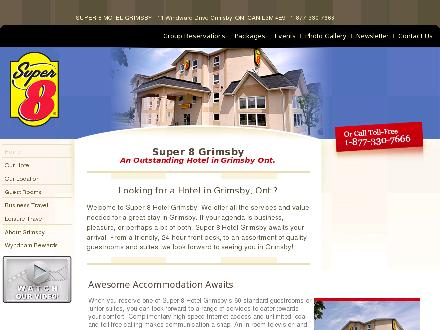 Super 8 Grimsby (905-309-8800) - Website thumbnail - http://www.super8grimsby.com