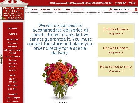 Flower Cellar The (905-602-0737) - Website thumbnail - http://www.theflowercellar.ca