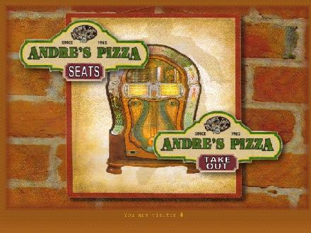 Andre's Seats Restaurant (902-752-2700) - Onglet de site Web - http://www.andrespizza.ca
