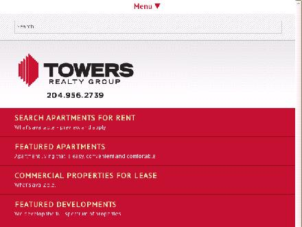 Towers Realty Group (204-956-2739) - Onglet de site Web - http://www.towersrealty.ca