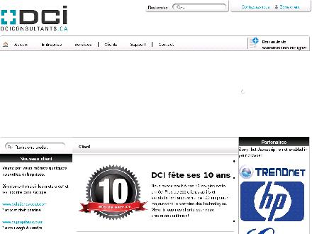 DCI Consultants (514-907-9084) - Website thumbnail - http://www.dciconsultants.ca/